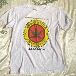 Ganja State University T Shirt Jamaica